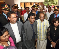 AR Rehman Visits GVHSS Nadakkavu <br> 29 Dec 2013