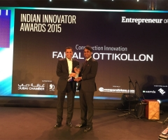 Construction Innovation Award<br> 7 Dec 2015