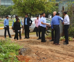 Groundbreaking Ceremony: Embassy 7B <br> 9 Sep 2015