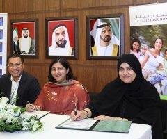 Al Jalila Foundation Signing <br> 5 Nov 2015