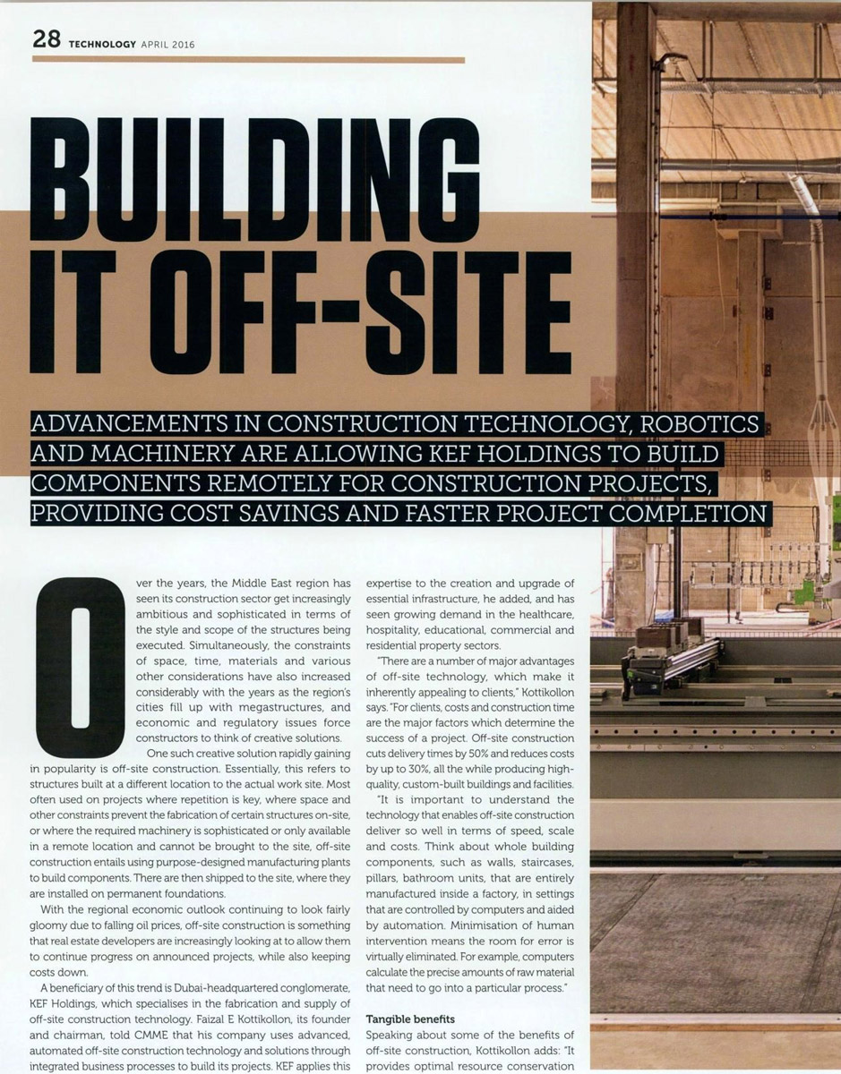 Building it Off Site