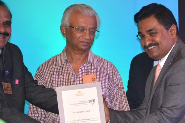 FAIZAL KOTTIKOLLON, CSR EXCELLENCE BY ROTARY CLUB