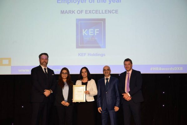 KEF HOLDINGS, MARK OF EXCELLENCE – EMPLOYER OF THE YEAR AWARD 2017, HR SUMMIT & EXPO 2017