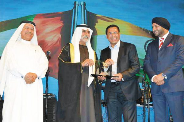 FAIZAL E. KOTTIKOLLON, BUSINESS EXCELLENCE AWARD 2016 BY THE INDIAN BUSINESS AND PROFESSIONALS COUNCIL