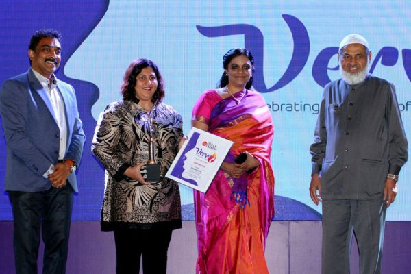 SHABANA FAIZAL, INSPIRING ICON AWARD 2018, NEW INDIAN EXPRESS